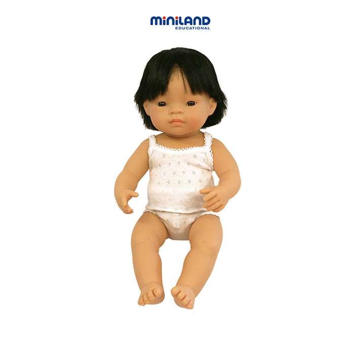 Baby Dolls Asian Boy By Miniland Educational