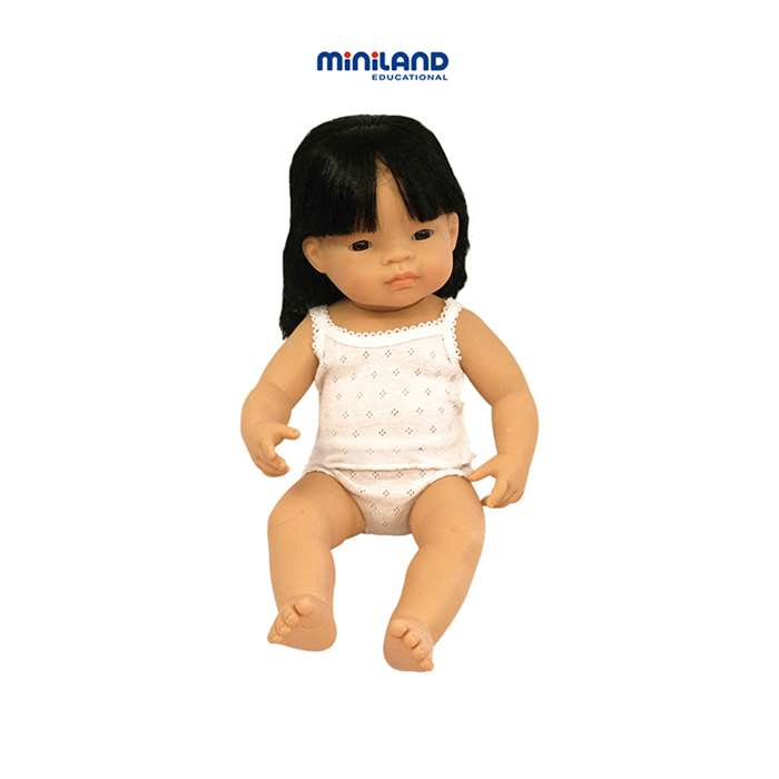 Baby Dolls Asian Girl By Miniland Educational