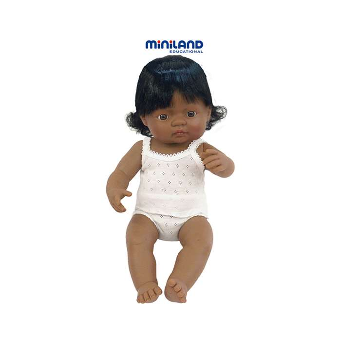 Baby Dolls Hispanic Girl By Miniland Educational