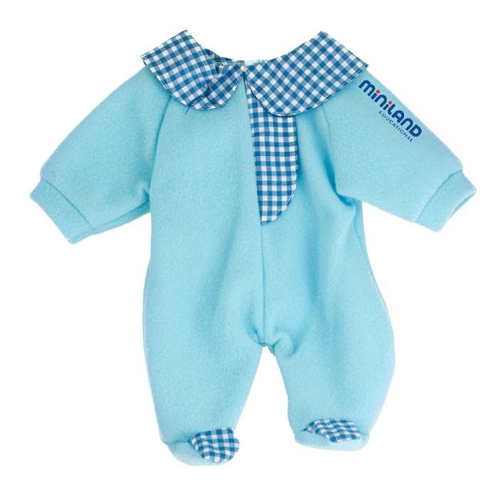 Baby Doll Clothes Blue Pajamas By Miniland Educational