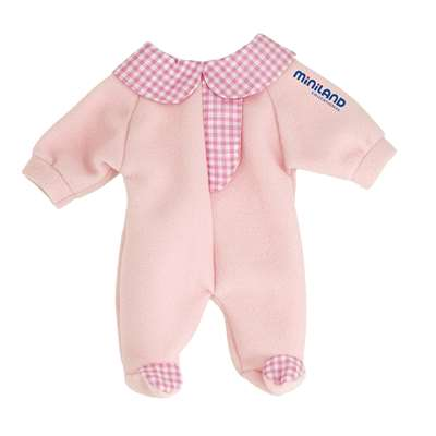 Baby Doll Clothes Pink Pajamas By Miniland Educational