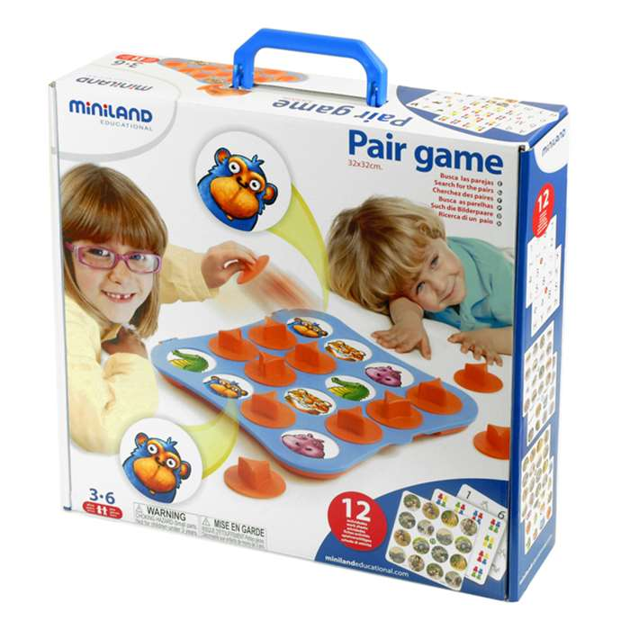 Pair Game By Miniland Educational