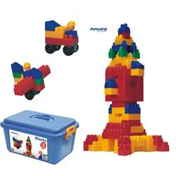 Blocks 120Pc Set By Miniland Educational