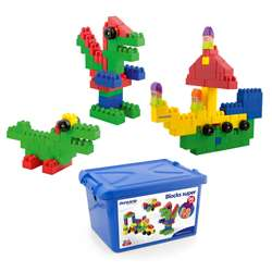 School Blocks Super 96Pc Container By Miniland Educational