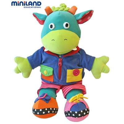 Moogy Fastening Toy By Miniland Educational