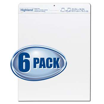 Highland Easel Pad Pack Of 6, MMM5406PK