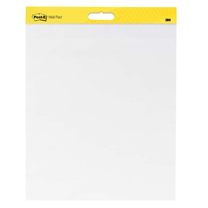 Post-It Self-Stick Wall Pads 2/Pk By 3M