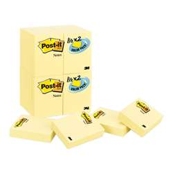 Post-It Notes Value Pk 24 Pads Canary Yellow 1 1/2 X 2 By 3M