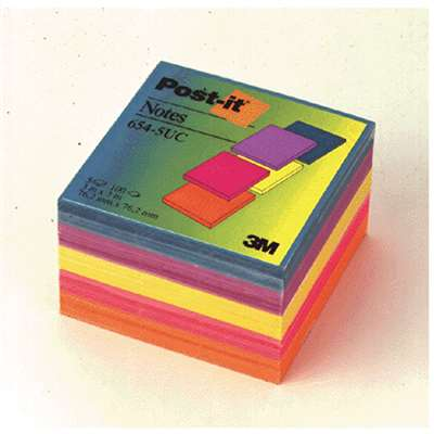 Notes Post-It Ultra Sold As Pk Colors 3 X 3 By 3M