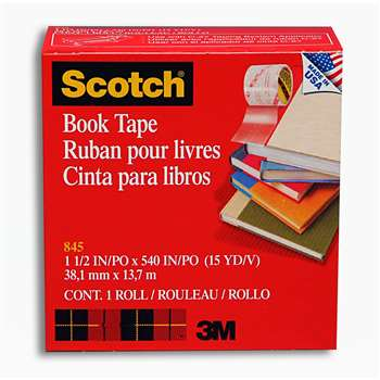 3M Scotch Bookbinding Tape 1 1/2V X 15 Yds By 3M