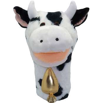 Plushpups Hand Puppet Cow By Get Ready Kids