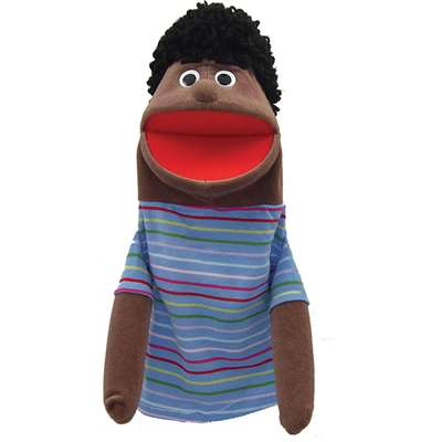 Half Body Family Puppets Boy African American By Get Ready Kids