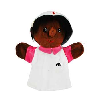 Black Nurse Puppet By Get Ready Kids