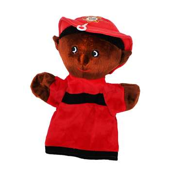 Black Firefighter Puppet By Get Ready Kids
