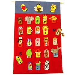 Alphabet Finger Puppets & Wall Chart By Get Ready Kids
