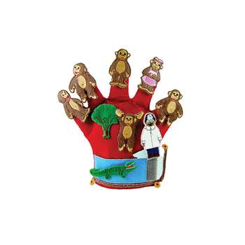 Finger Play Fun Glove Puppets Monkeys On The Bed By Get Ready Kids