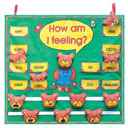 How Am I Feeling Fabric Chart By Get Ready Kids