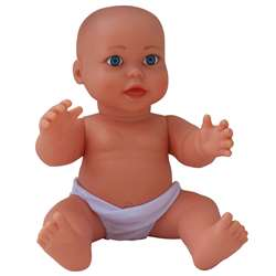 Large Vinyl Gender Neutral Caucasian Baby Doll By Get Ready Kids