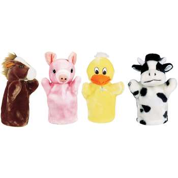 Farm Puppet Set I Includes Duck Pig Horse And Cow By Get Ready Kids