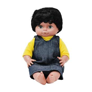 Dolls Multi-Ethnic Black Girl By Marvel Education
