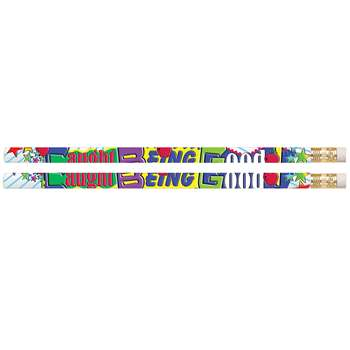 Caught Being Good Motivational Pencils Pack Of 12 By Musgrave Pencil