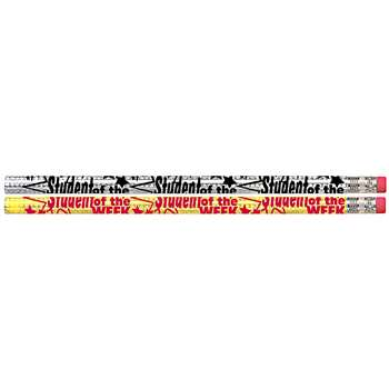 Student Of The Week 12Pk Motivational Fun Pencils By Musgrave Pencil