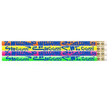 Welcome To School 12Pk Motivational Fun Pencils By Musgrave Pencil