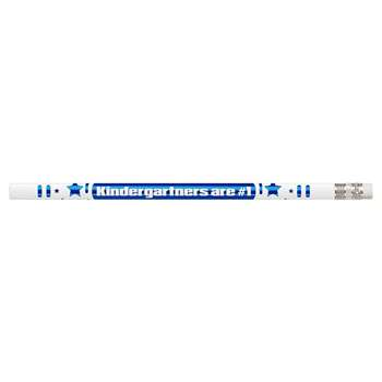 Kindergartners Are #1 12Pk Motivational Fun Pencils By Musgrave Pencil