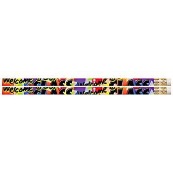 Welcome To Our Class 12Pk Motivational Fun Pencils By Musgrave Pencil