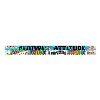 Attitude Is Everything 12Pk Motivational Fun Pencils By Musgrave Pencil