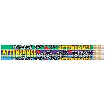 Perfect Attendance Pencil 12Pk By Musgrave Pencil