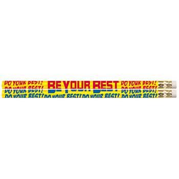 Do Your Best Be Your Best 12Pk Motivational Fun Pencils By Musgrave Pencil