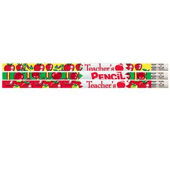 Teachers Pencil 12Pk Motivational Fun Pencils By Musgrave Pencil