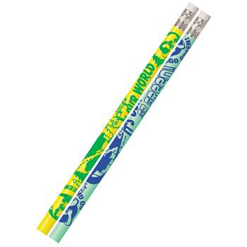 Its Our World Go Green 12Pk Motivational Fun Pencils By Musgrave Pencil