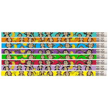 Dancin Monkey 12Pk Motivational Fun Pencils By Musgrave Pencil