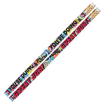 You'Re Doing A Great Job 12Pk Motivational Fun Pencils By Musgrave Pencil