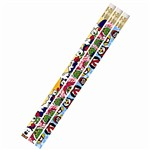 Christmas Kingdom 12Pk Motivational Fun Pencils By Musgrave Pencil