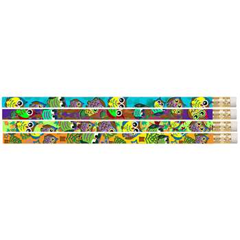 Owl Corral Motivational Pencils Pack Of 12 By Musgrave Pencil