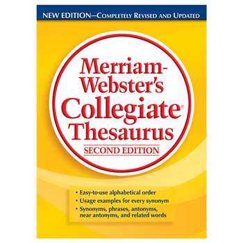 Merriam Websters Collegiate Thesaurus Second Editi, MW-2697