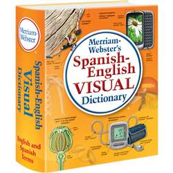 Merriam Webster Spanish English Visual Dictionary By Merriam-Webster