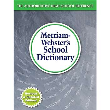 Merriam Websters School Dictionary, MW-6800