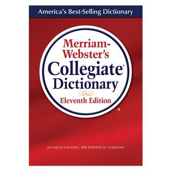 Merriam Websters Collegiate Dictionary 11Th Ed Laminated By Merriam-Webster