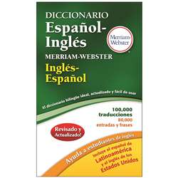 Merriam Websters Diccionario Espanol Ingles, MW-8217