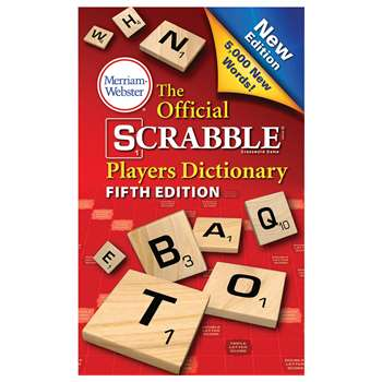 Official Scrabble Player Dictionary 5Th Edition, MW-8224