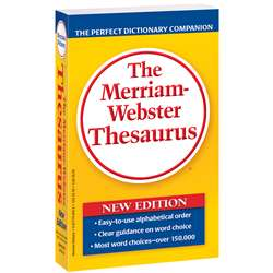 Merriam Websters Thesaurus Paperbck By Merriam-Webster