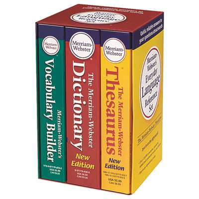 Merriam Websters Everyday Language Reference Set, MW-8750