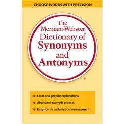 Merriam Websters Dictionary Of Synonyms & Antonyms, MW-9061