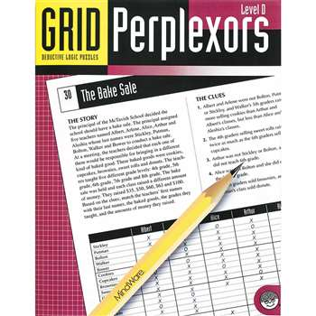 Grid Perplexors Level D By Mindware