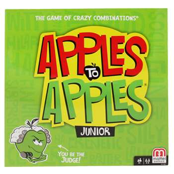 Apples To Apples Junior By Mattel