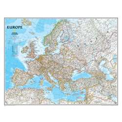 Europe Wall Map 30 X 24 By National Geographic Maps